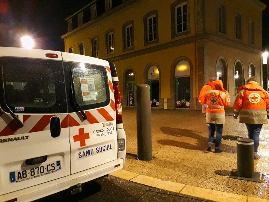 samu social, une soirée à Bourg en Bresse